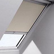 Store occultant motorisé fenêtre de toit Velux DSL U04 beige