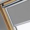 Store occultant fenêtre de toit VELUX DKL S06 gris