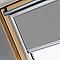 Store occultant fenêtre de toit Velux DKL U04 gris