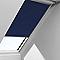 Store occultant fenêtre de toit Velux DKL M04 bleu