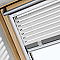 Store vénitien fenêtre de toit VELUX PAL C02 blanc
