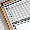 Store vénitien fenêtre de toit VELUX PAL U04 blanc
