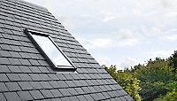 Raccord fenêtre de toit simple sur ardoises Velux EDL CK02 gris