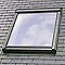 Raccord fenêtre de toit simple sur ardoises VELUX EDL CK04 gris