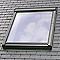 Raccord fenêtre de toit simple sur ardoises VELUX EDL MK08 gris