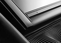 Raccord fenêtre de toit simple sur tuiles Velux EDW CK02 gris