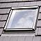 Raccord fenêtre de toit simple sur tuiles Velux EDW CK04 gris