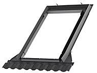 Raccord fenêtre de toit simple sur tuiles Velux EDW UK04 gris