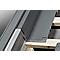 Raccord de remplacement fenêtre de toit Velux EL MK04 gris