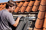 Raccord de remplacement fenêtre de toit Velux EW MK04 gris
