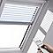 Store vénitien télécommandé fenêtre de toit VELUX PML UK08 blanc