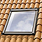 Raccord fenêtre de toit simple sur tuiles Velux EDW CK02 ocre