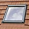 Raccord fenêtre de toit simple sur tuiles Velux EDW CK02 rouge