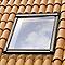 Raccord fenêtre de toit simple sur tuiles VELUX EDW CK04 ocre