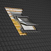 Raccord fenêtre de toit simple sur tuiles Velux EDW UK08 rouge