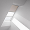Store duo fenêtre de toit VELUX DFD CK04 beige