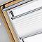 Store plissé fenêtre de toit VELUX FHL SK06
