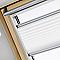 Store plissé fenêtre de toit VELUX FHL UK04