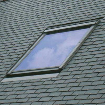 raccord fen tre de toit simple sur ardoises velux edn ck02 gris castorama. Black Bedroom Furniture Sets. Home Design Ideas