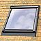 Raccord fenêtre de toit simple sur tuiles plates VELUX EDP CK04 gris