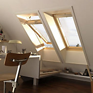Fenêtre de toit à rotation VELUX Tout Confort - bois/pin L. 55 x H. 78 cm (GGL 3057 CK02)