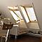 Fenêtre de toit à rotation Velux GGL Tout confort bois CK04 55 x h.98 cm