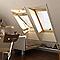 Fenêtre de toit à rotation VELUX GGL Tout confort bois UK08 134 x h.140 cm