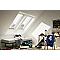 Fenêtre de toit à rotation VELUX Tout Confort Everfinish - polyuréthane L. 78 x H 140 cm (GGU 0057 MK08)