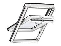 Fenêtre de toit à rotation VELUX Tout Confort Everfinish - polyuréthane L. 114 x H. 118 cm (GGU 0057 SK06)