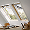 Fenêtre de toit à projection VELUX GPL Tout confort bois MK04 78 x 98 cm