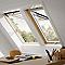 Fenêtre de toit à projection VELUX GPL Tout confort bois MK08 134 x 98 cm