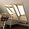 Fenêtre de toit à rotation VELUX GGL Standard bois CK02 55 x h.78 cm