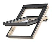 Fenêtre de toit à rotation VELUX Standard Clearfinish - bois/pin L. 55 x H. 78 cm (GGL 3054 CK02)