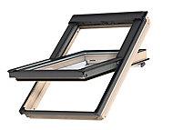 Fenêtre de toit à rotation VELUX Standard Clearfinish - bois/pin L. 78 x H. 118 cm (GGL 3054 MK06)