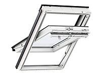 Fenêtre de toit à rotation VELUX Confort Everfinish - polyuréthane L. 55 x H. 78 cm (GGU 0076 CK02)