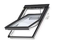 Fenêtre de toit motorisée électrique VELUX INTEGRA® Confort Everfinish - Polyuréthane L. 78 x H. 98 cm (GGU 007621 MK04)