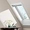 Fenêtre de toit à rotation VELUX GGU Confort blanc CK02 55 x h.78 cm