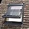 Fenêtre de toit à projection/rotation Velux GGL Tout confort bois SK06 114 x h.118 cm