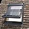 Fenêtre de toit à projection/rotation VELUX GGL Tout confort bois UK04 134 x h.98 cm