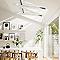 Fenêtre de toit à rotation VELUX GGL Standard blanc SK06 114 x h.118 cm