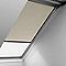 Store duo fenêtre de toit VELUX DFD MK04 beige