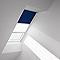 Store duo fenêtre de toit Velux DFD MK04 marine