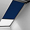 Store duo fenêtre de toit VELUX DFD MK08 marine