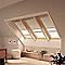 Store duo fenêtre de toit Velux DFD S08 beige