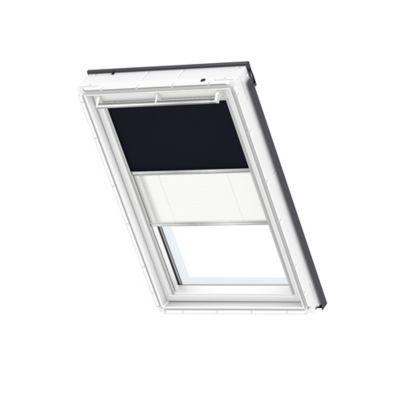 Store duo fenêtre de toit velux dfd u08 marine