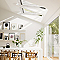 Fenêtre à rotation VELUX GGL Triple vitrage blanc MK08 80,7 x h.153,6 cm
