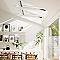 Fenêtre de toit à rotation Velux GGL Triple vitrage blanc MK06 80,7 x h.131,6 cm