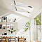 Fenêtre de toit à rotation Velux GGL Triple vitrage blanc SK06 116,7 x h.131,6 cm