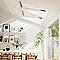 Fenêtre de toit à rotation VELUX GGL Triple vitrage blanc SK08 120,7 x h.153,6 cm