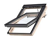 Fenêtre de toit à rotation VELUX Tout Confort Whitefinish - bois peint en blanc L. 55 x H. 98 cm (GGL 2057 CK04)
